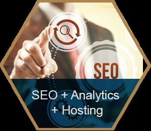 SEO, Analytics & Hosting