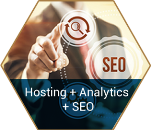 SEO, Analytics & Hosting